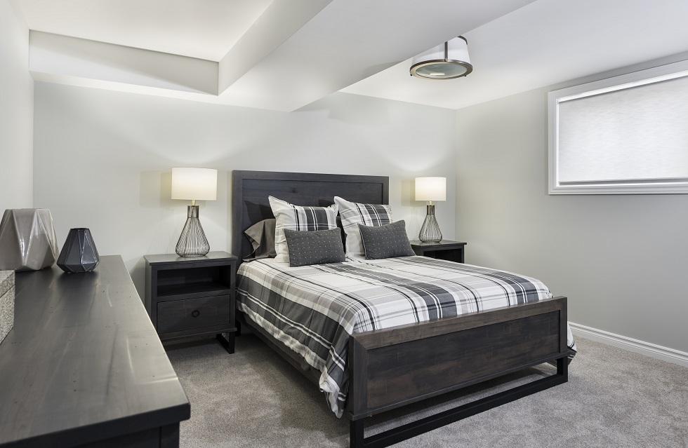 Tweed Optional Basement Bedroom