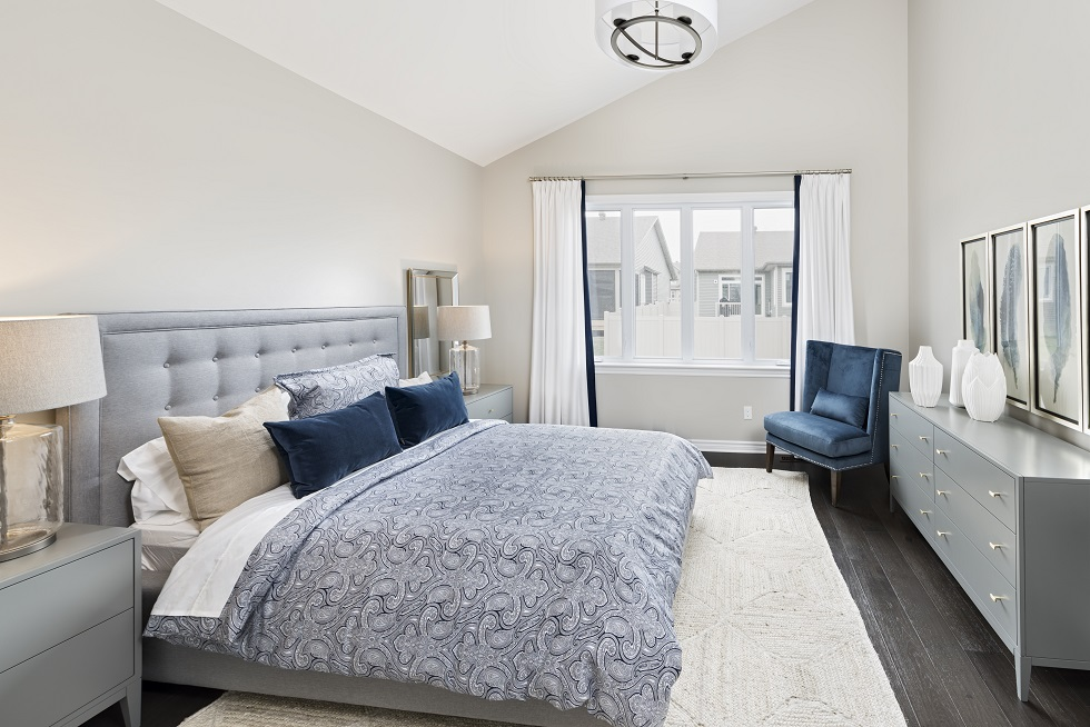Tweed Master Bedroom